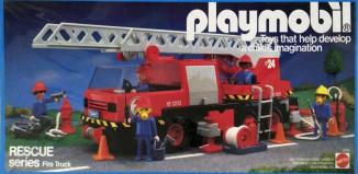 Playmobil - 9752-mat - fire truck