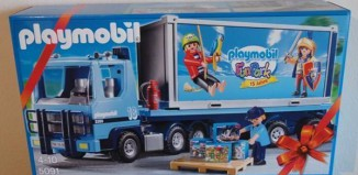 Playmobil - 5091-ger - Container Truck 2015 - 15 Anniversary FunPark