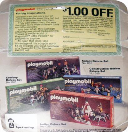 Playmobil 059-sch - Doctor & Nurse - Box