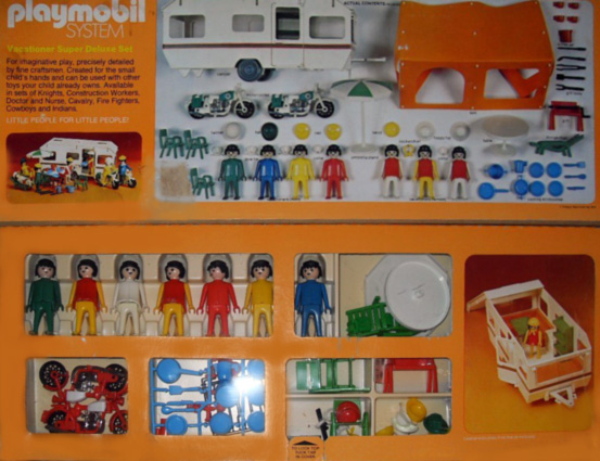 Playmobil 084-sch - Vacationer Super Deluxe Set - Back