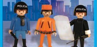 Playmobil - 1-9533-ant - policemen and prisoner