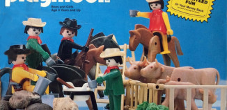 Playmobil - 1002v2-sch - Cowboy Deluxe Set