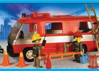 Playmobil - 13252-ant - Firemen and truck