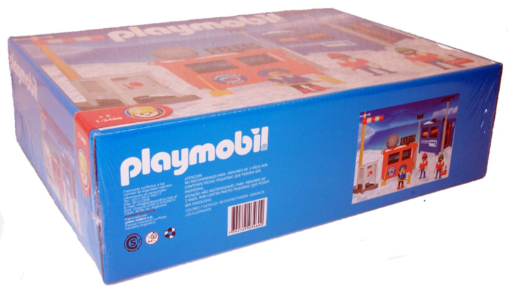 Playmobil 1-3460-ant - Polar Lab - Box