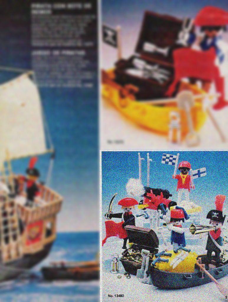 Playmobil 13480-aur - Pirates Set - Box