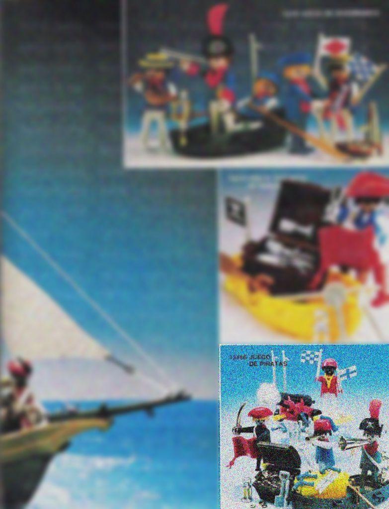 Playmobil 13480-aur - Pirates Set - Back