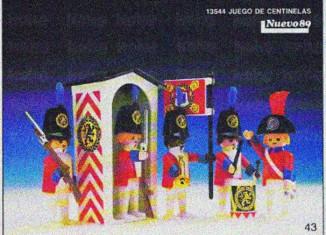 Playmobil - 13544-aur - Watch Guards Set