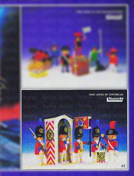 Playmobil 13544-aur - Watch Guards Set - Box