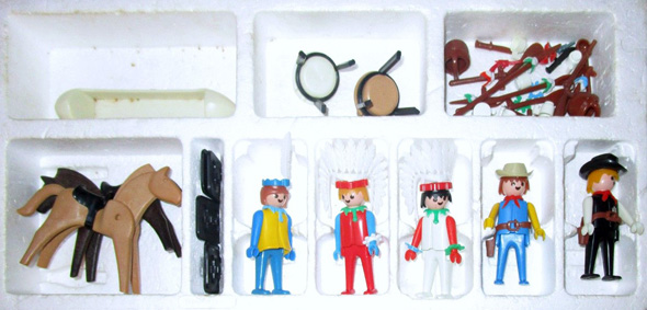 Playmobil 1730-pla - Cowboys and Indians Super Set - Back