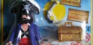 Playmobil - R007-30793893-esp - Capitán Pirata (Revista n.7)