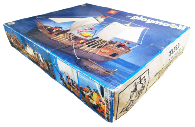 Playmobil 23.55.0-trol - pirate ship - Back