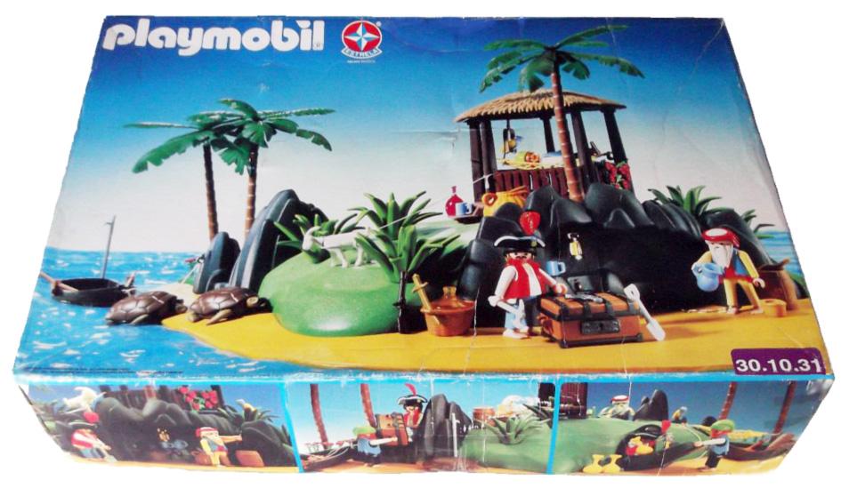 Playmobil 30.10.31-est - treasure island - Back