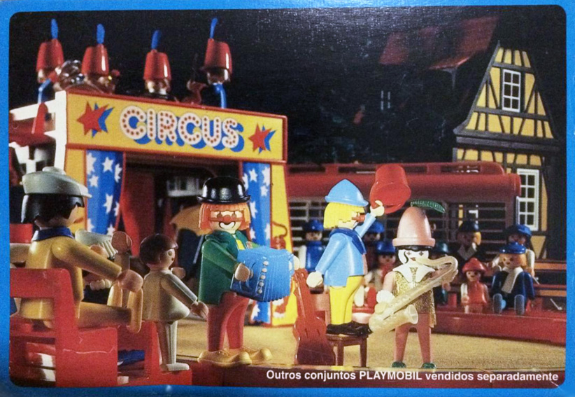 Playmobil 30.16.04-est - 2 clowns - Box