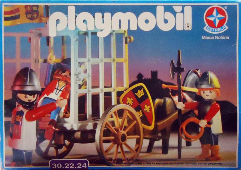 Playmobil 30.22.24-est - Knights Prison Cart - Box