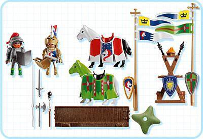 Playmobil 3287s2 - Knights Tournament - Back