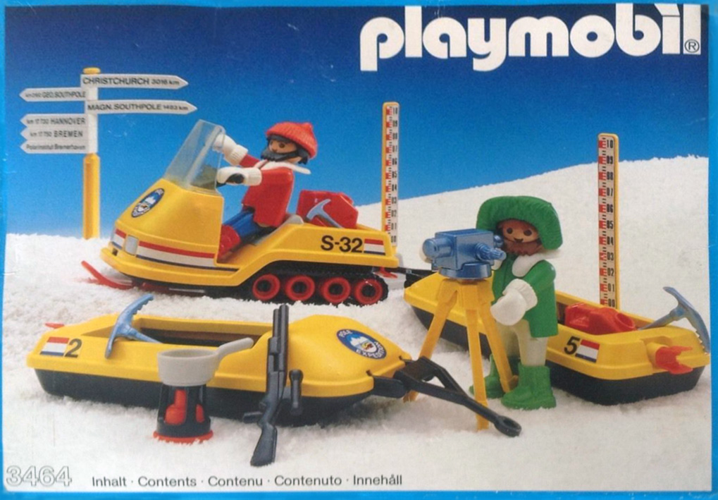 Playmobil 3464 - Snow Survey Crew - Box