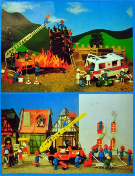Playmobil 3491 - Firemen - Back