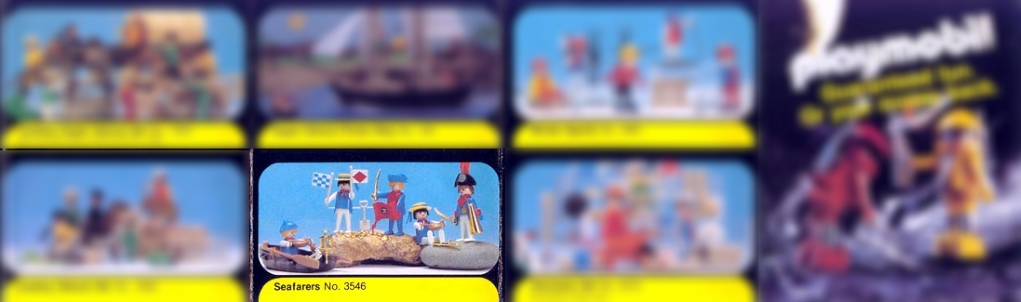 Playmobil 3546-sch - seafarers - Box