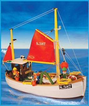 Playmobil 3551-ant - Fishing Boat - Box
