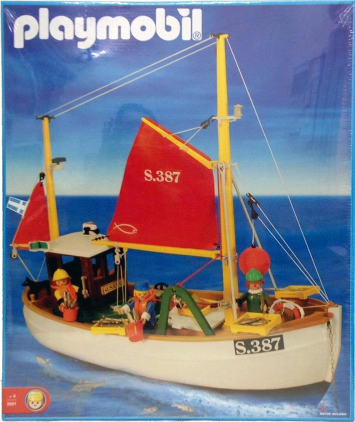 Playmobil - 3551-ant - Fishing Boat