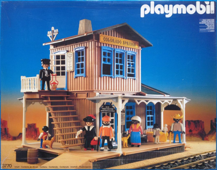 Playmobil 3770 - Estación Colorado Springs - Caja