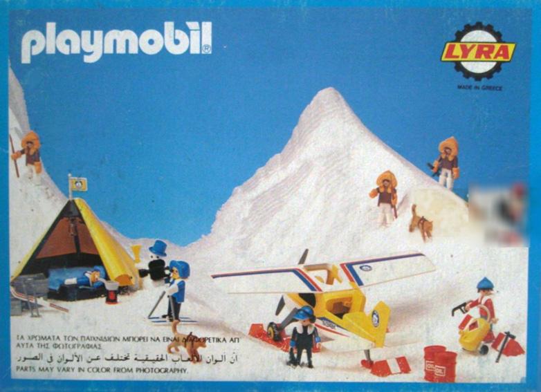 Playmobil 3911-lyr - Eskimo Mother and Baby - Back