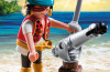 Playmobil - 5378 - pirate with cannon