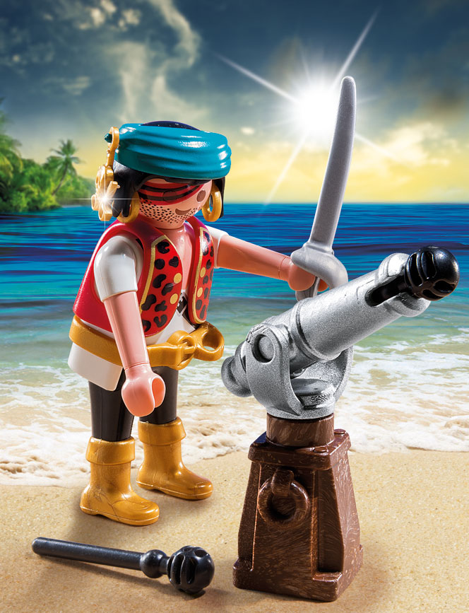 playmobil set 5378   pirate with cannon   klickypedia