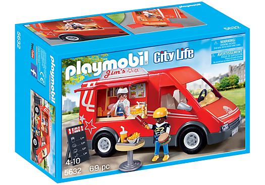 Playmobil 5632-usa - Food Truck - Box