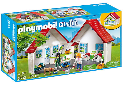 Playmobil set 5633 usa take along pet store klickypedia for Playmobil kinderzimmer 4287