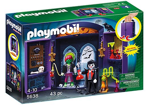 Playmobil 5638-usa - Play Box Haunted House - Box
