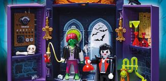 Playmobil - 5638-usa - Play Box Haunted House