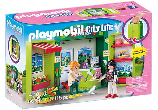 Playmobil 5639-usa - Play Box Flower Shop - Box