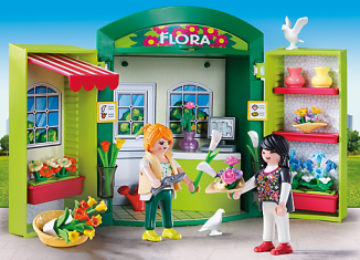 Playmobil - 5639-usa - Play Box Flower Shop