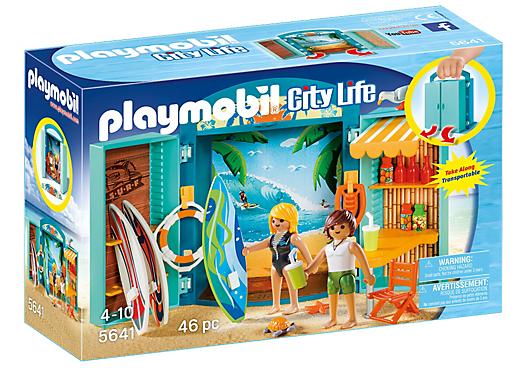 Playmobil 5641-usa - Play Box Surf Shop - Box
