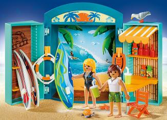Playmobil - 5641-usa - Play Box Surf Shop