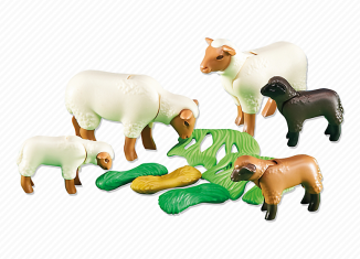 Playmobil - 6416 - Sheeps and lambs