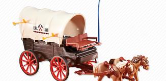 Playmobil - 6426 - Covered wagon