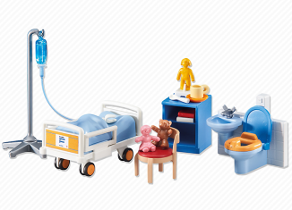 Playmobil - 6444 - Children's hospital room