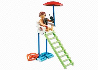 Playmobil - 6449 - Wheelchair lifeguard surveillance