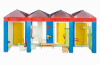 Playmobil - 6450 - Aquapark toilets and wardrobe