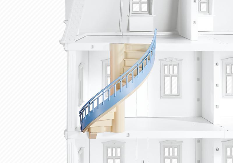 Playmobil set 6455 romantic dollhouse staircase for Modernes haus playmobil