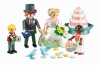 Playmobil - 6459 - Bridal couple with children