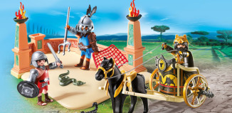 Playmobil - 6868 - Gladiators with chariot