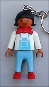 Playmobil - 7814 - Brunette girl with red bow