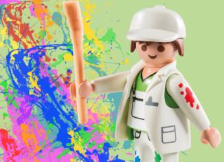 Playmobil - 5598v3 - Pintor