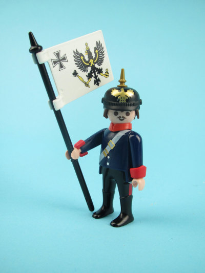 Playmobil 30794863 - Prussian soldier - Back