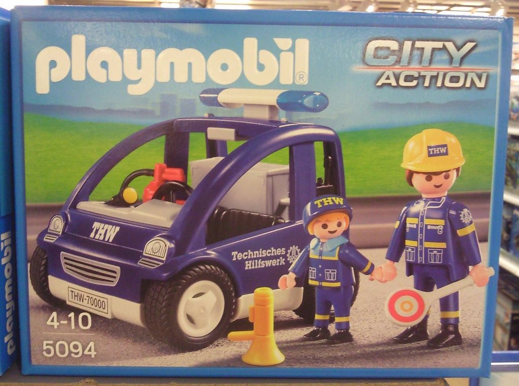 Playmobil 5094 - THW trainer vehicle - Box