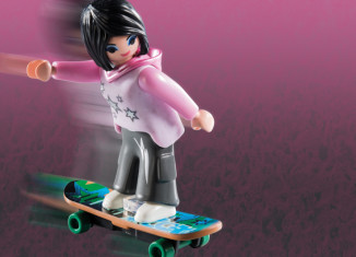 Playmobil - 5599v11 - Skater Girl