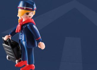 Playmobil - 5599v7 - Stewardess